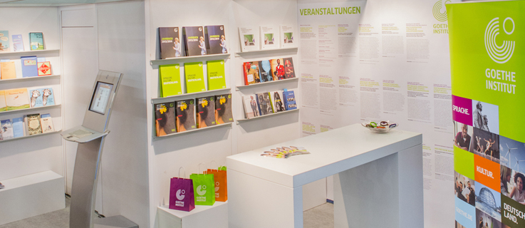 Frankfurt Book Fair, exhibition stand