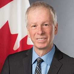 Stephane Dion, Canadian ambassador to Germany and special envoy to the European Union and Europe