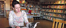 It is important to Alexandra Ivanova that this library developed from a grass-roots level.