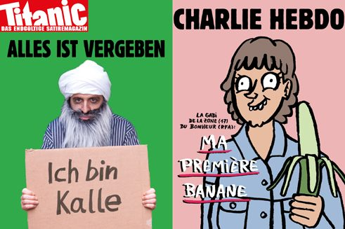 """Titanic"" and ""Charlie Hebdo"""