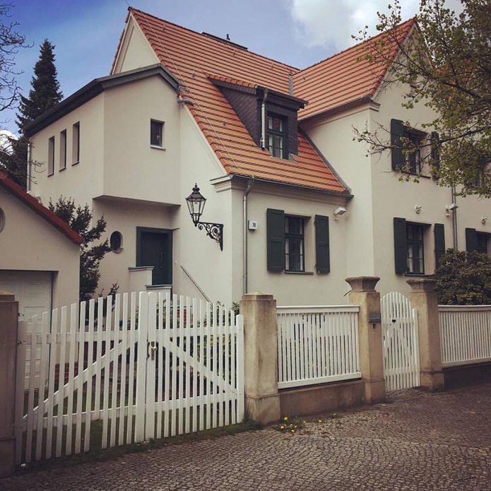 We've dubbed it the ''Berlin Palace'' - our home.