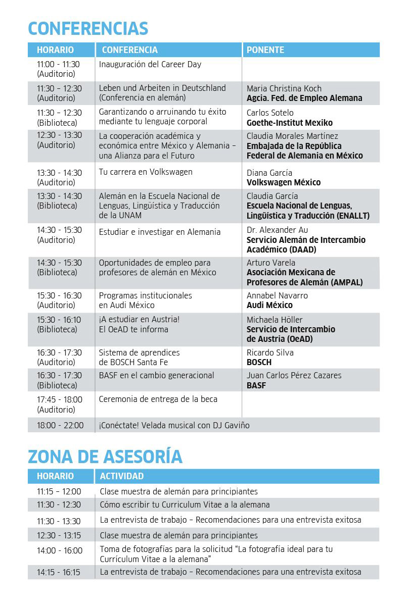 Programa Career Day
