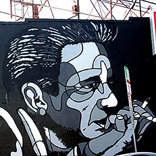"""Johnny Cash"" von David Flores"