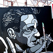 """Johnny Cash"" by David Flores"