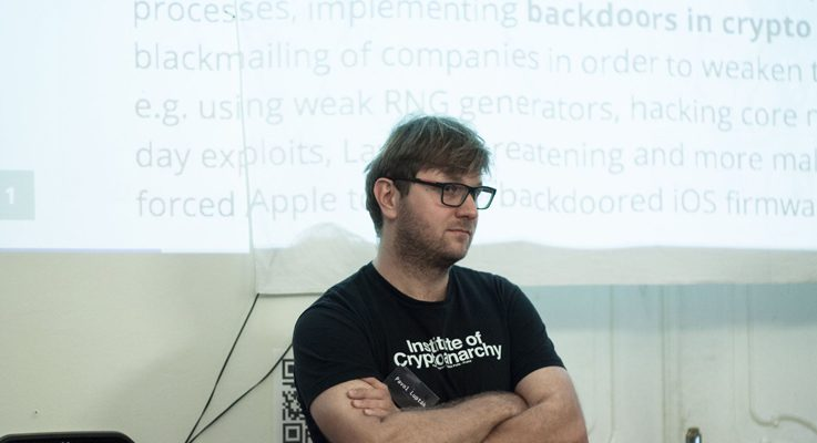 Crypto:Party 3, Pavol Lupták (Nethemba), Progressbar Hackerspace, 25. 11. 2017