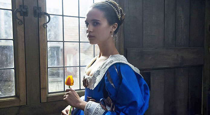Alicia Vikander in 'Tulip Fever'.