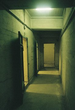 Under the arrival halls at Tempelhof are a series of bunkers and tunnels.