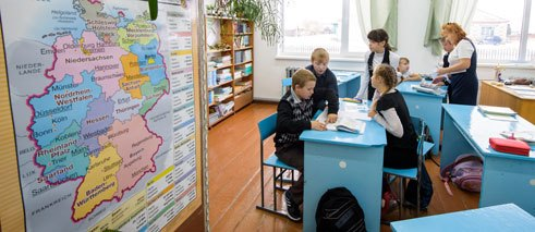Focus will be placed in future on German learning in nursery and primary schools.