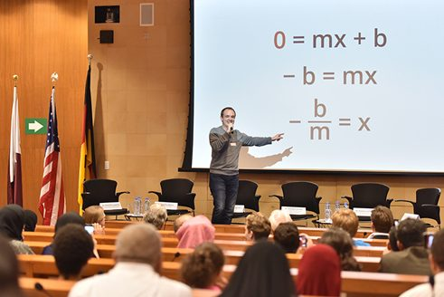 Mathematics and Internationalization