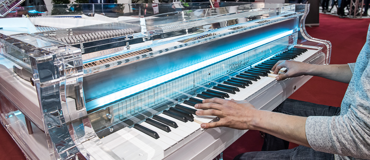 The Frankfurt Musikmesse is an important meeting point for instrument makers worldwide