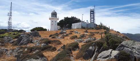 German scientists are interested in New Zealand for many reasons, including its location and environment. Baring Head atmospheric trace gas sampling station has developed into a globally recognized site for science, with many German researchers visiting the station.