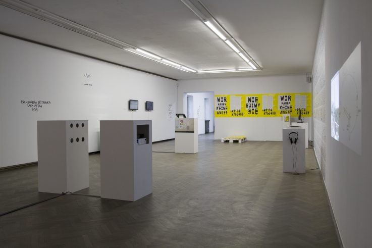 "Die Ausstellung ""Global Control and Censorship"" in Białystok"