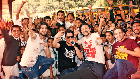 Konzert an der Delhi Public School South Bangalore