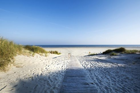 Climate-neutral holidaying on Juist Island in the North Sea
