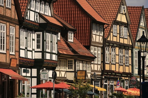 Sustainable markets in the half-timbered town of Celle