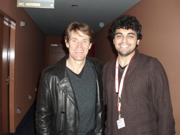 Andrea D'Addio und Willem Dafoe