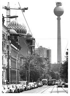 Oranienburgerstrasse in 1991