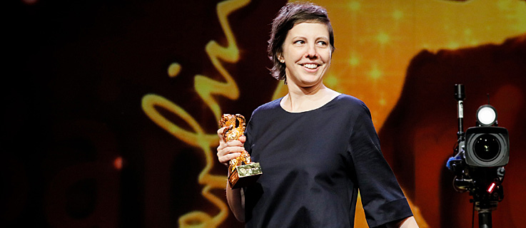 An audacious winner: Adina Pintilie won the Golden Bear for Best Film for
