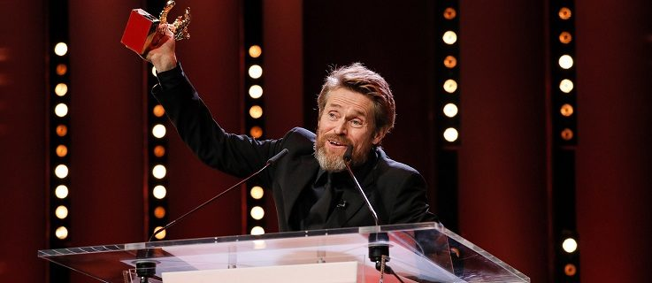 Willem Dafoe has been awarded the honorary Golden Bear for lifetime achievement.