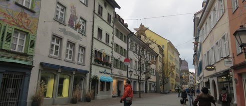 Wandering through the streets of Konstanz