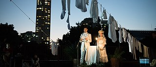 I am not a feminist - Wedding on the roof of the Goethe-Institut Tokyo