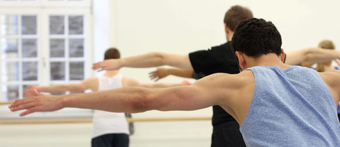Lessons at the Institute for Contemporary Dance, Folkwang University of Arts