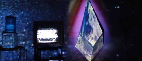 Live visuals by Lady Lazer Light (Erica Sklenars)