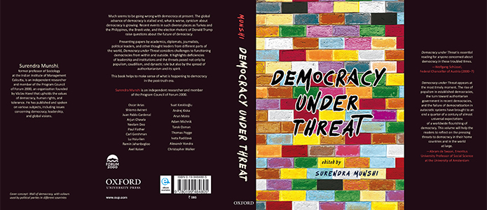 Democracy under threat - book