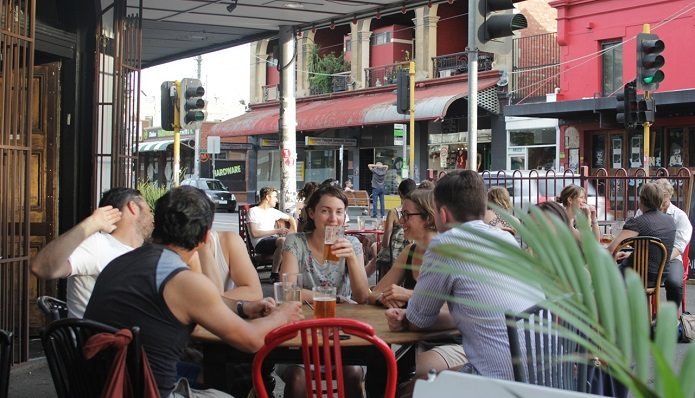 Catch-up drinks in Fitzroy