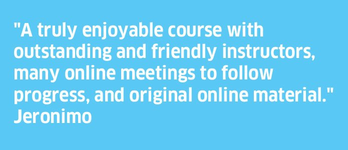 Online Group Courses - Testimonial