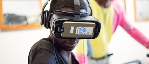 "The exhibition ""Kinshasa 2050"" also showed digital works."