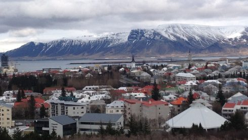 Reykjavik's tranquillity summons one to write