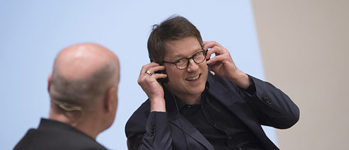 Jan Wagner in conversation