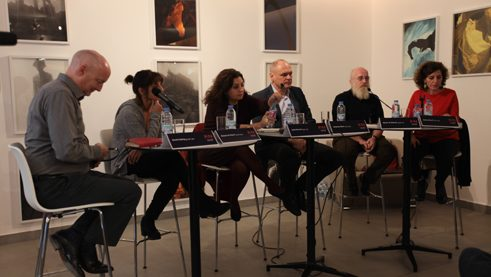 "Diskussion ""An Arab World without Artists"" beim Mina-Festival"