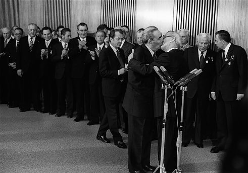Official Visit of Erich Honecker to West Germany, Bonn, 1987