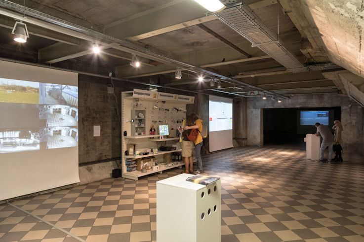 "Ausstellung ""Global Control and Censorship"""