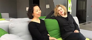 Interview Gesine Danckwart und Cao Kefei