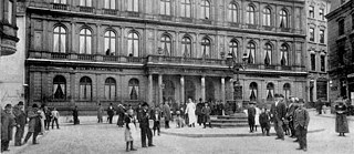 Kaiserbad Hotel in Aachen, Germany around 1900