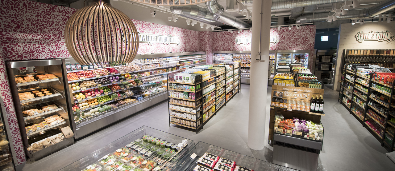 Switzerland's largest supermarket chain, Coop, is organised as a cooperative.