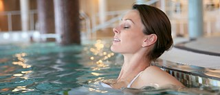 Many see the spa as ideal for relaxation: woman in a spa