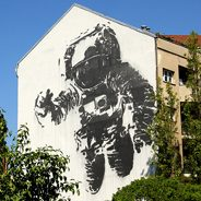 """Astronaut Cosmonaut"" by Victor Ash"