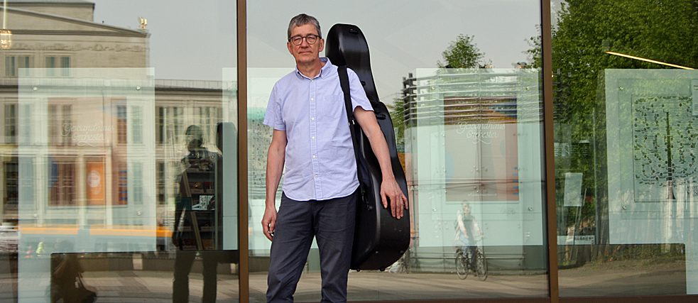 The cellist Matthias Schreiber is a guest musician every two years at the Bayreuth Festival