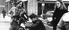 Shooting of 'Die dritte Generation', 1978, 1979.