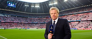 Former Germany goalkeeper Oliver Kahn is a football pundit working for ZDF.