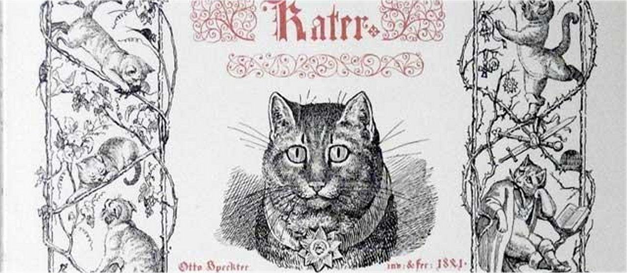 "An etching for ""Das Märchen vom gestiefelten Kater"" (The Fairy Tale of Puss in Boots) by the German artist Otto Speckter (1807-1871)"
