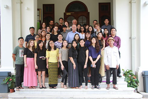 The team of the Goethe-Institut Myanmar