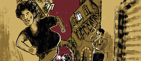 "Rafik Shami's ""A Hand Full of Stars"" is now available as a graphic novel."