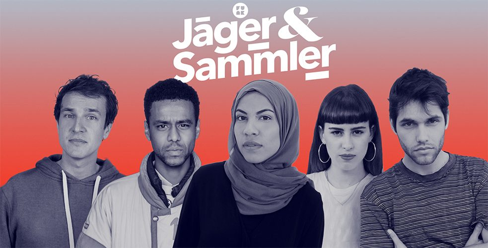 "German public broadcasters created funk to offer young users around 60 internet channels, including political formats like ""Jäger&Sammler"" (Hunters & Gatherers)."
