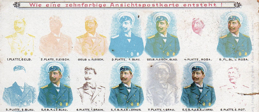 German printers optimized the use of chromolithography.