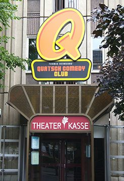 The Quatsch Comedy Club in Berlin.